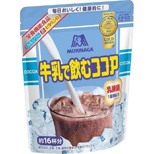 ミロ活の代替品、類似品は森永製菓牛乳で飲むココアがおすすめ!その理由は?