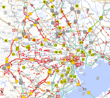 都内は交通規制でう回路も大渋滞!混雑を避けて都心へ行く方法3選