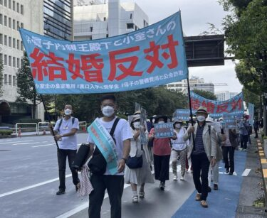 小室圭と眞子様の結婚反対デモの開催日時や場所は?参加方法まとめ