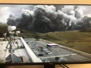 【最新】阿蘇山の動画がヤバイ!噴火瞬間の様子やケガ人や被害の画像